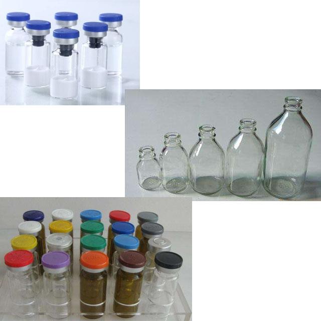 hyaluronika acida vial-botelo-plenigo kaj kap-maŝino